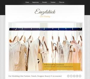 Homepage Einzelstück